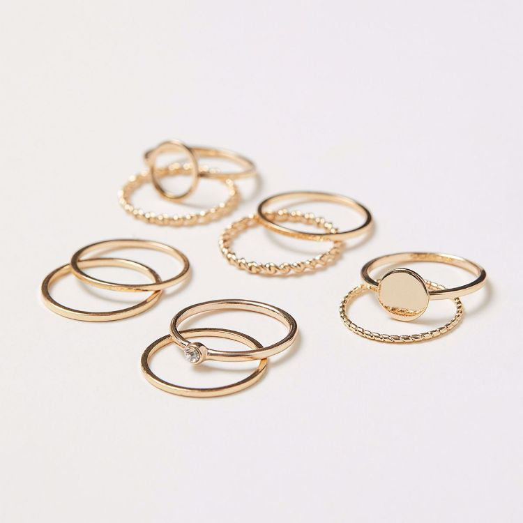 Picture of 10-Pack Gold Rings